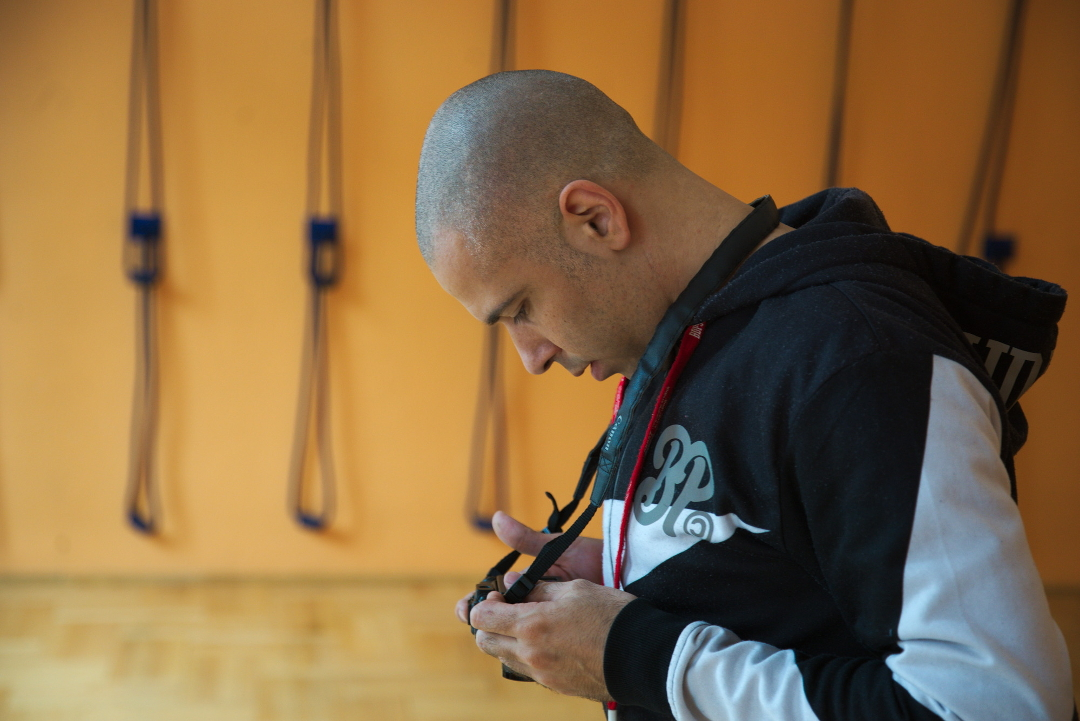 Portré: Bencze Attila Iyengar jóga oktató